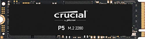 Crucial P5 CT500P5SSD8 Disco Duro Sólido Interno SSD de 500 GB (3D NAND, NVMe, PCIe, M.2, 2280SS)