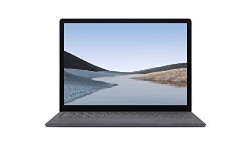 Microsoft Surface Laptop 3 - Ordenador portátil de 13.5' táctil (Intel Core i5-1035G7, 8GB RAM, 128GB SSD, Intel Graphics, Windows 10) Plata - Teclado QWERTY Español