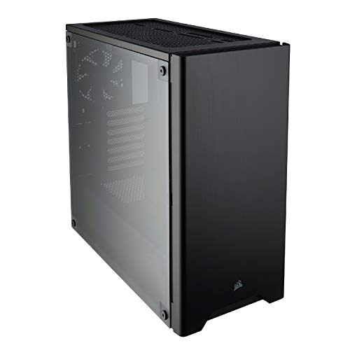 Corsair Carbide 275R - Caja de ordenador semitorre para juegos (ATX Mid-Tower ventana), negro