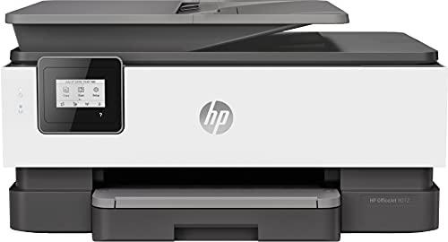 HP OfficeJet Pro 8012 1KR71B, Impresora Multifunción Tinta, Imprime, Escanea, Copia, Wi-Fi, HP Smart App, Apple AirPrint, Incluye 2 Meses del Servicio Instant Ink, Gris