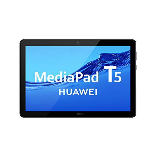 Huawei Mediapad T5 - Tablet (Wi-Fi, Pantalla Full HD, 32 GB de Memoria Interna (Ampliable), 2 GB de RAM, batería de 5100 mAh), Color Negro