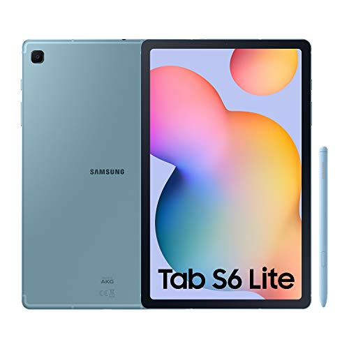 SAMSUNG Galaxy Tab S6 Lite - Tablet de 10.4' (WiFi, Procesador Exynos 9611, RAM de 4GB, Almacenamiento de 64GB, Android 10) - Color Azul [Versión española]
