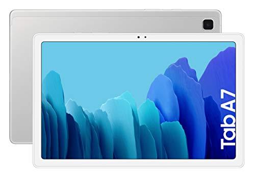 SAMSUNG Galaxy Tab A 7   Tablet de 10.4' (WiFi, Procesador Octa-Core Qualcomm Snapdragon 662, 3GB de RAM, 64GB de Almacenamiento, Android actualizable) Color Silver [Versión española]
