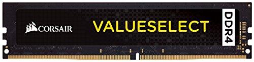 Corsair CMV8GX4M1A2400C16 Value Select 8 GB (1 x 8 GB) DDR4 2400 MHz C16 Módulo de memoria del portátil, Negro