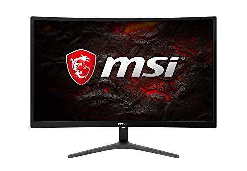 MSI Optix G241VC - Monitor Gaming Curvo 24' FullHD 75Hz (1920 x 1080, pantalla curva, 1ms respuesta, AMD Freesync) negro