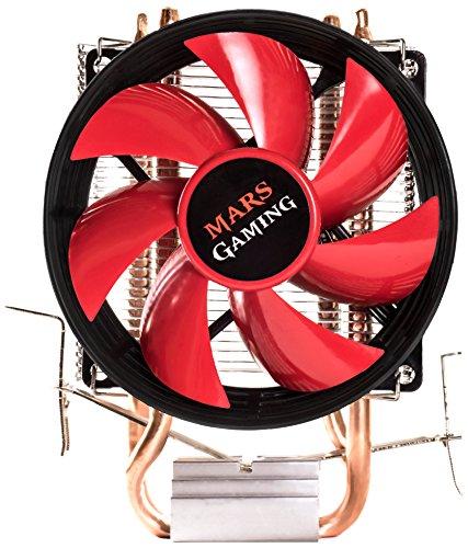 Mars Gaming MCPU117, Disipador Para Ordenador, Ventilador 90mm, Negro