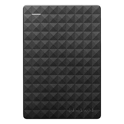 Seagate Expansion Portable, 4 TB, Disco duro externo, HDD, USB 3.0 para PC, ordenador portátil y Mac, 2 años de servicios Rescue (STEA4000400)