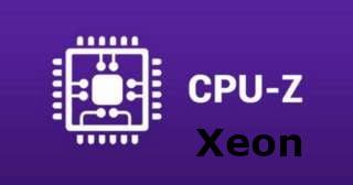 logo CPU-Z para xeon