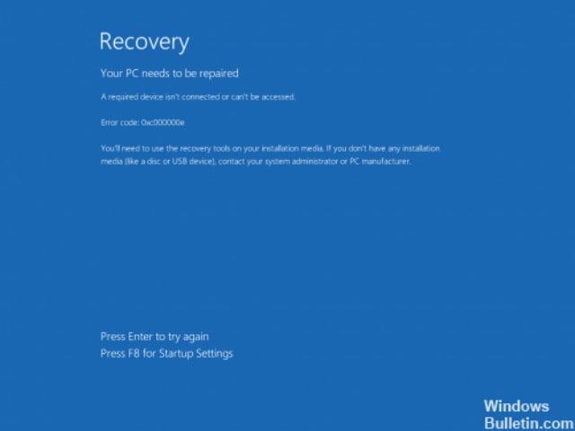 ERROR CODE code 0xc000000e pantallazo azul error en placas base xeon