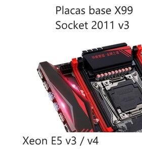 Placas base socket 2011v3 xeon e5 v3 y v4