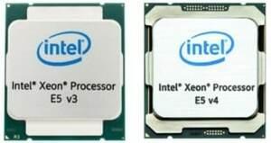 INTEL XEON E5 V3 V4