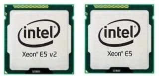 INTEL XEON E5 V1 V2