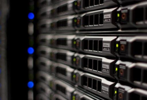 rack de servidores xeon