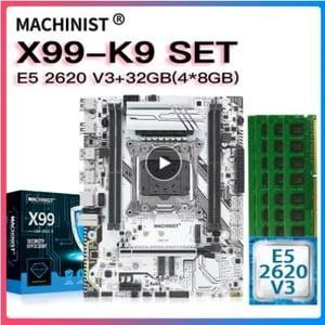 combo machinist x99 k9 XEON 2620v3 32Gb (4x8)