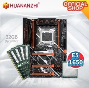placa base x79 huananzhi deluxe v7.1 lga 2011 xeon e5 1650 32GB (4x8)