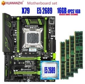 combo x79 huananzhi lga 2011 xeon e5 2689 16GB (4x4)