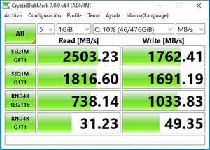 crystal disk 7 test nmve kingdian