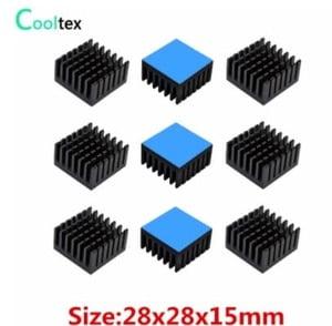 disipadores con termal pad para chipset y vrm