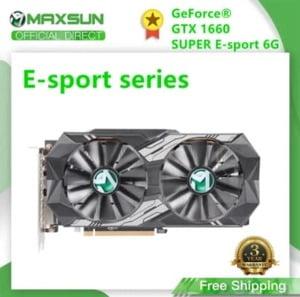 COMPRAR maxsun gtx 1660 Super 6GB 192 bits