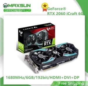 COMPRAR maxsun rtx 2060 GDDR6 66B 192 bits