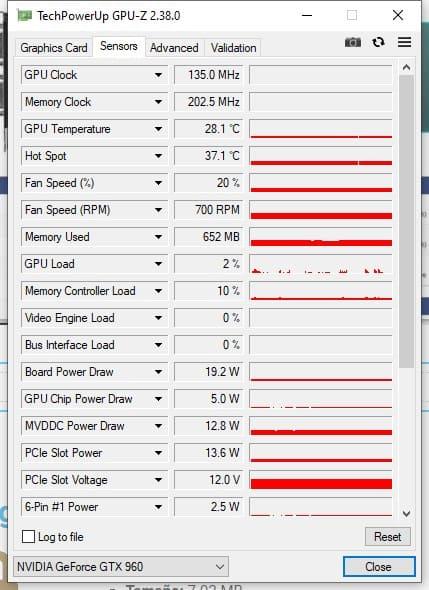 gpu-z sensores info gráficas con GPU-Z