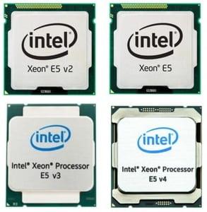 procesadores xeon gama e5