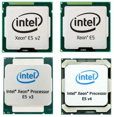 procesadores intel xeon e5 v2 xeon e5 intel xeon proccesor e5 v3 y e5 v4