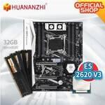 combo huananzhi tf x99-2620v3_ddr4 32Gb_(4x8)