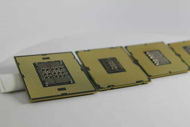 cuatro procesadores intel xeon