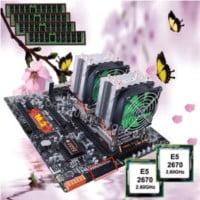 placa base huananzhi 4d x79 dual combo 2690 32 GB (4x8) con ventiladores