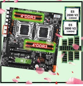 placa base huananzhi 8d x79 dual combo 2690v2 64GB (4x16)