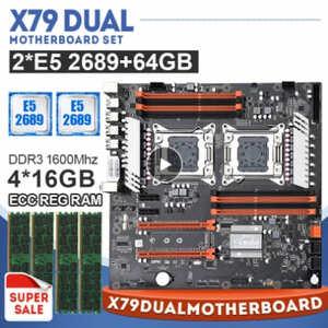 placa base jingsha x79 dual combo 2689 64GB (4x4)