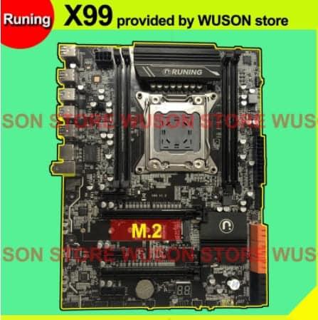 placa base runing x99