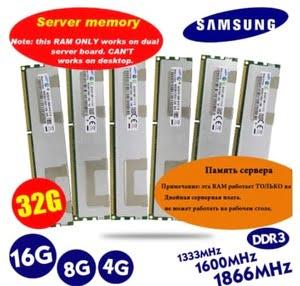 modulos de memoria ram servidor samsung 16g 8g 4g