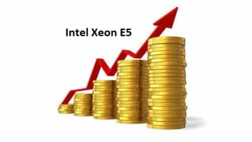 subida precios procesadores e5 xeon