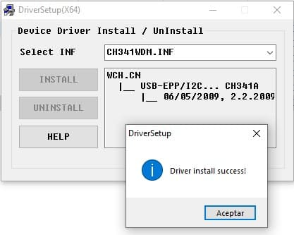 drivers programador usb CH341A bios