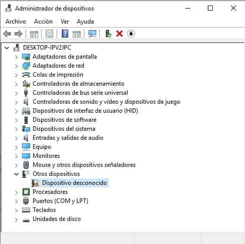 administrador dispositivo windows drivers programador ch341a