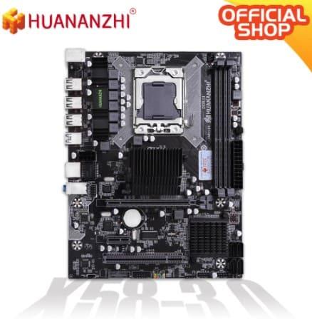 placa base huananzhi x58 socket 1366