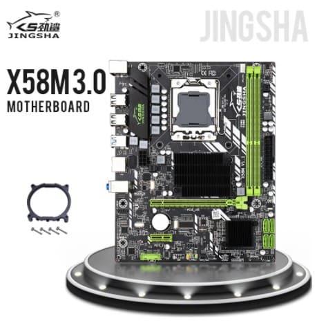 placa base jingsha x58m socket 1366