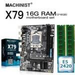 machinist lga 1356 chipset x79 xeon e5 2420 16GB (2x8)