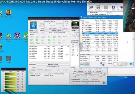 comprobar undervolting con hwinfo64