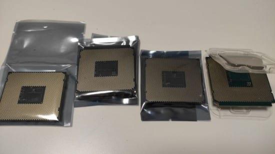 procesadores xeon embolsados