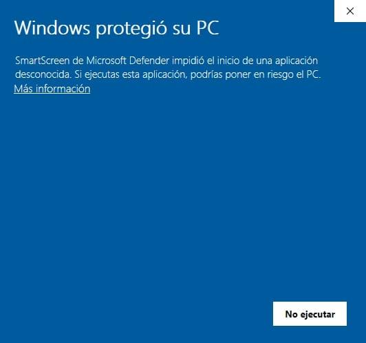 windows protegio su pc software no certificado