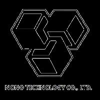 tres cubos enlazados blanco y negro Nonotree technology co. logo