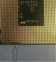 procesador intel quemado