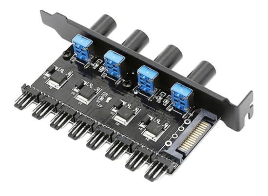 controladora analogica externa regulabe para ventiladores pc