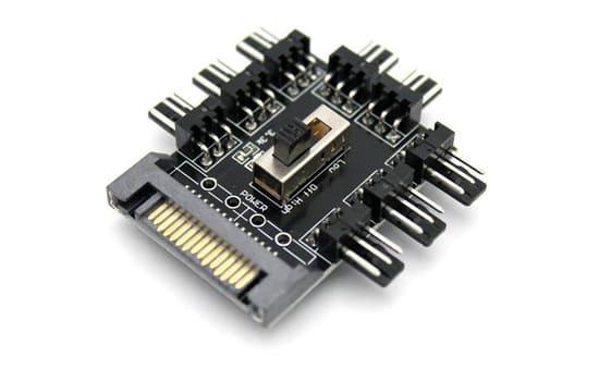 controladora hub analogico para ventiladores pc