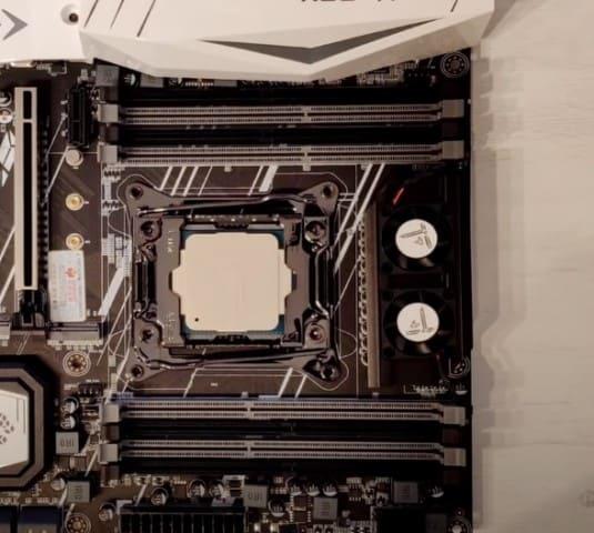 desmontar ventiladores vrm placa base x99 tf