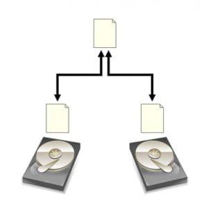 diagrama raid 1