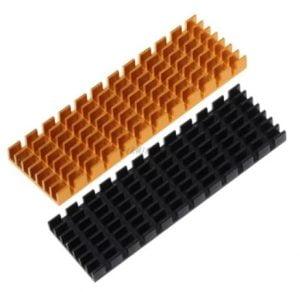 disipador m.2 color cobre o negro 70x22x6